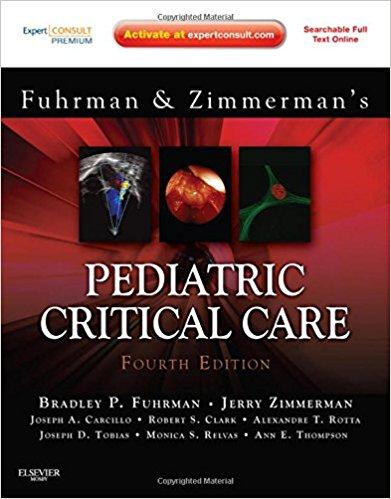 Fuhrman và Zimmerman, Hồi sức Nhi khoa 4/e