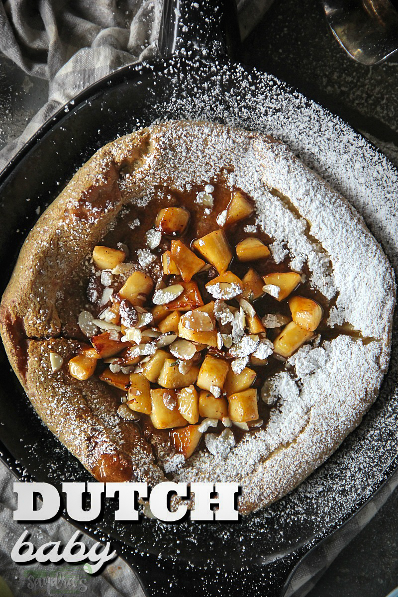Dutch Baby - with Rye and Spelt Flour
