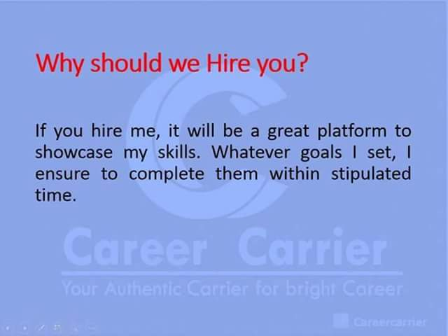 best answers to interview questions