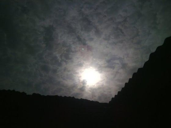 Photo of Eclipse of the sun in Nigeria