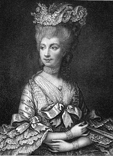 Queen Charlotte  from Diary and Letters of Madame D'Arblay