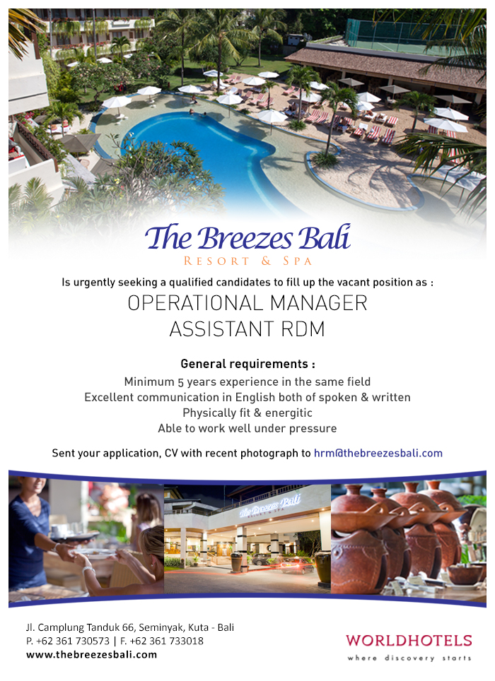 lowongan kerja accounting hotel 2017 2018