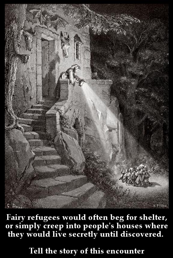 Dark Fairyland Essay Illustration