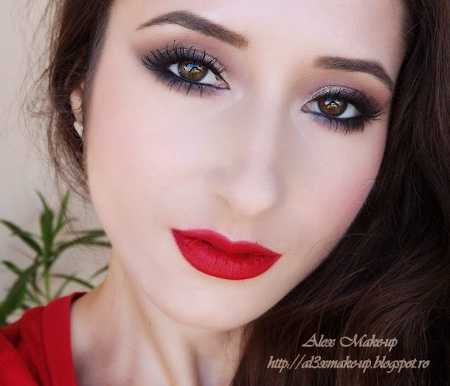 Party Makeup Lookred For Ever Alex Makeup