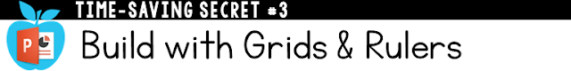 Building with Grid & Rulers in PPT