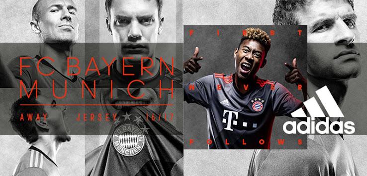 Oficial: Nueva camiseta suplente adidas del Bayern Munich para el 2016/2017