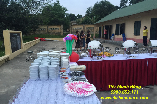 Tiệc Buffet tại Xuân Mai Hà Nội
