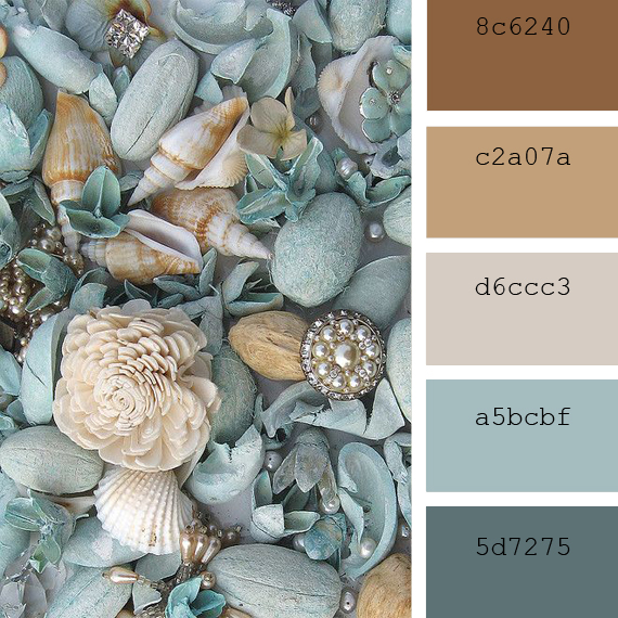 cummer color inspiration, coast to coast tones