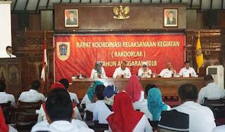Targetkan Raih WTP dan Piala Adipura Bupati Sri Mulyani Sentil PejabatYang Tidak Mau Duduk Di Kursi Depan