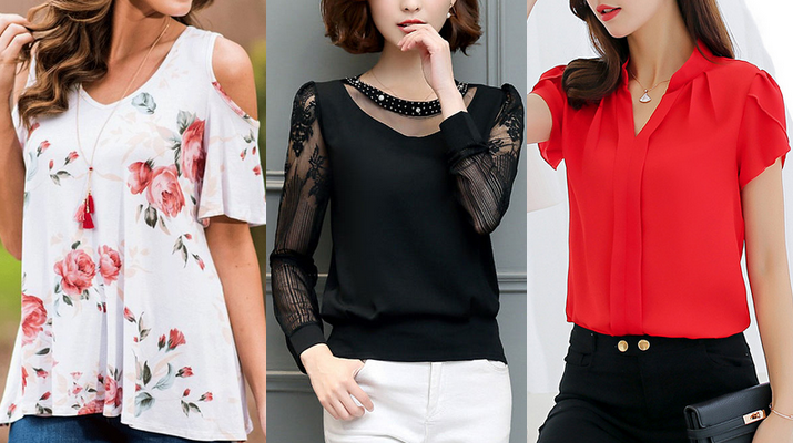 women's fashion blouses