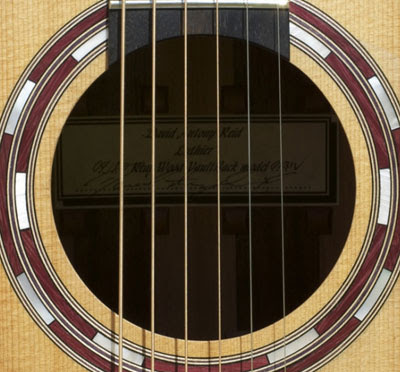 Cấu tạo cây đàn guitar acoustic