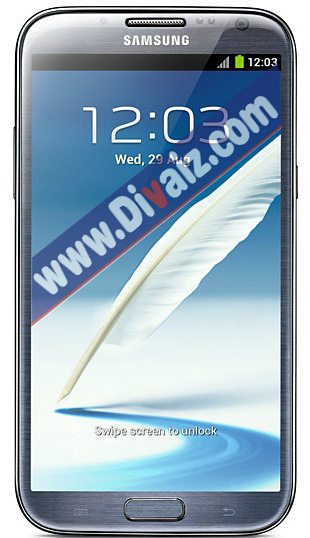 Samsung Galaxy Note 2 - www.divaizz.com