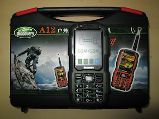 Hape Plus HT Discovery A12 UHF New Rugged Phone Water Dust Shock Resistant
