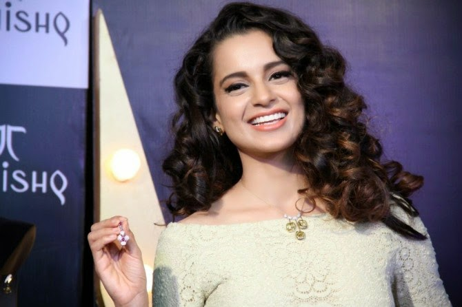 Kangana Ranaut at Tanishq Jewellery IVA2 Collection Launch