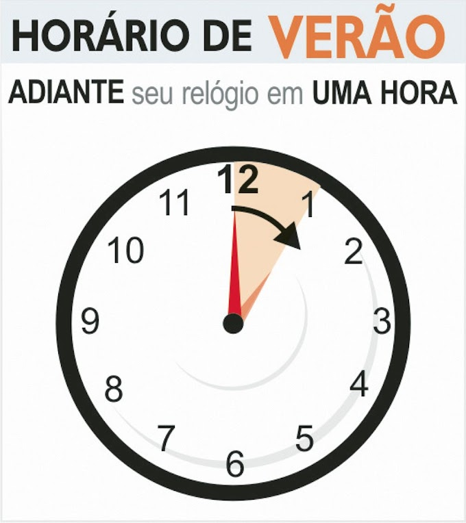 Horário brasileiro de verão começa no domingo (16)