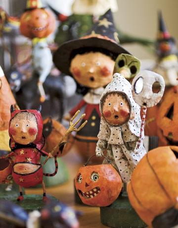 Quirky Artist Loft Papier Mache Halloween Folk Art