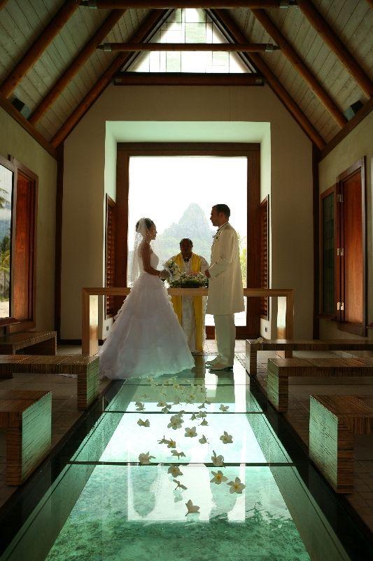 Architecture Corner Intercontinental Bora Bora Resort