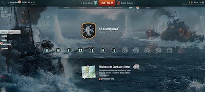 Perfil en world of warships