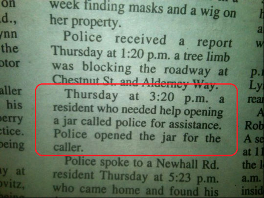 only in a small town