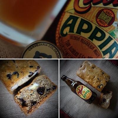 Cake à la bananae et à la bière - Bolo de banana com cerveja de trigo © Laura Próspero