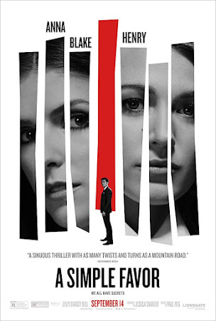 Watch Online A Simple Favor 2018 720P HD x264 Free Download Via High Speed One Click Direct Single Links At WorldFree4u.Com