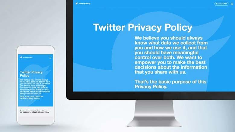 تويتر تقوم بتحديث شروط الاستخدام لحماية البيانات الشخصية