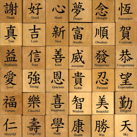 chinese calligraphy symbols - photo #5