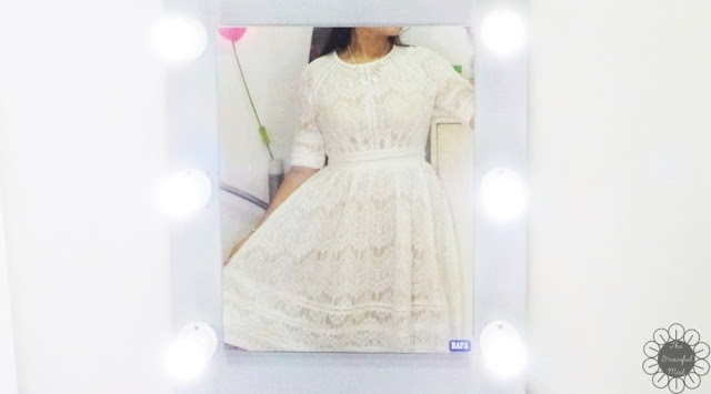 "Dressfo Review - Style Guide - ""Pure and Plain High-Waist Lace Dress"" - Fashion Post (www.TheGracefulMist.com)"