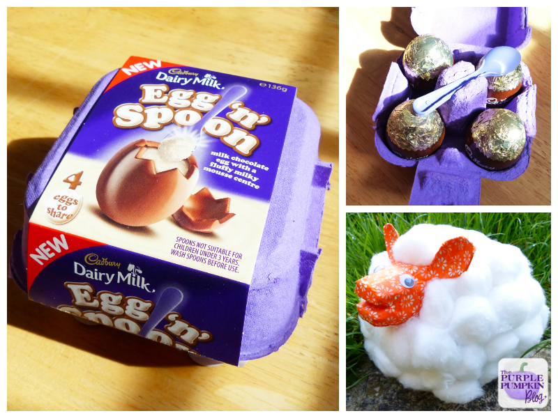 Easter Lamb Craft with Cadbury Dairy Milk Egg'n' Spoon
