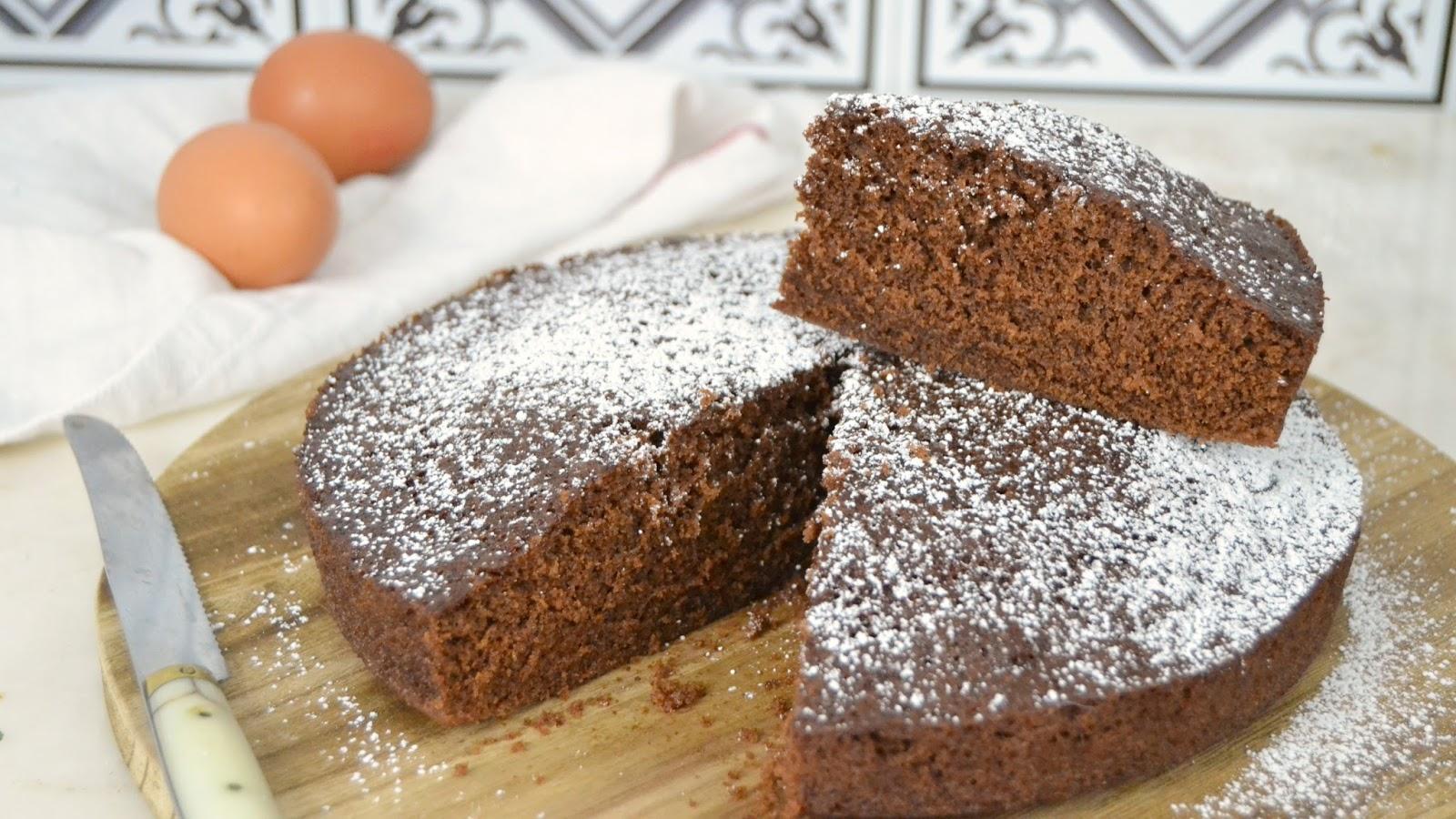 Bizcocho de chocolate al microondas cuuking recetas de - Bizcocho microondas 3 minutos ...