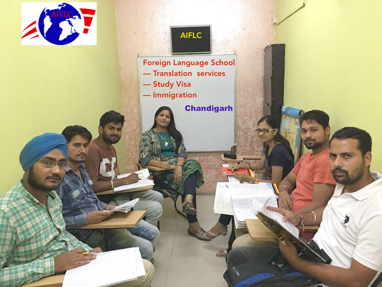 foreign languages  classes and translation services in chandigarh since 1999