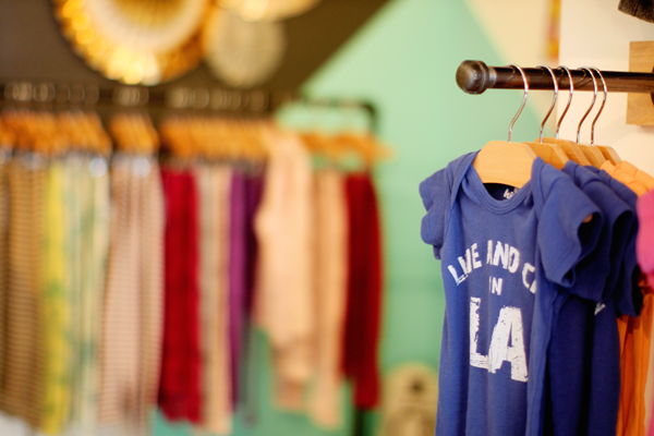 Live & Cry in LA and more cool baby clothes by Kira Kids