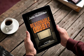 """Peaceful Looking But With Sinister Streaks: Revealing The Cover of """"Reasonable Doubt?"""" by Julie Haiselden"""