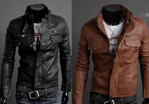 Macho Moda - Blog de Moda Masculina  Jaqueta Couro PU Banggood ... 4b19d7f7105
