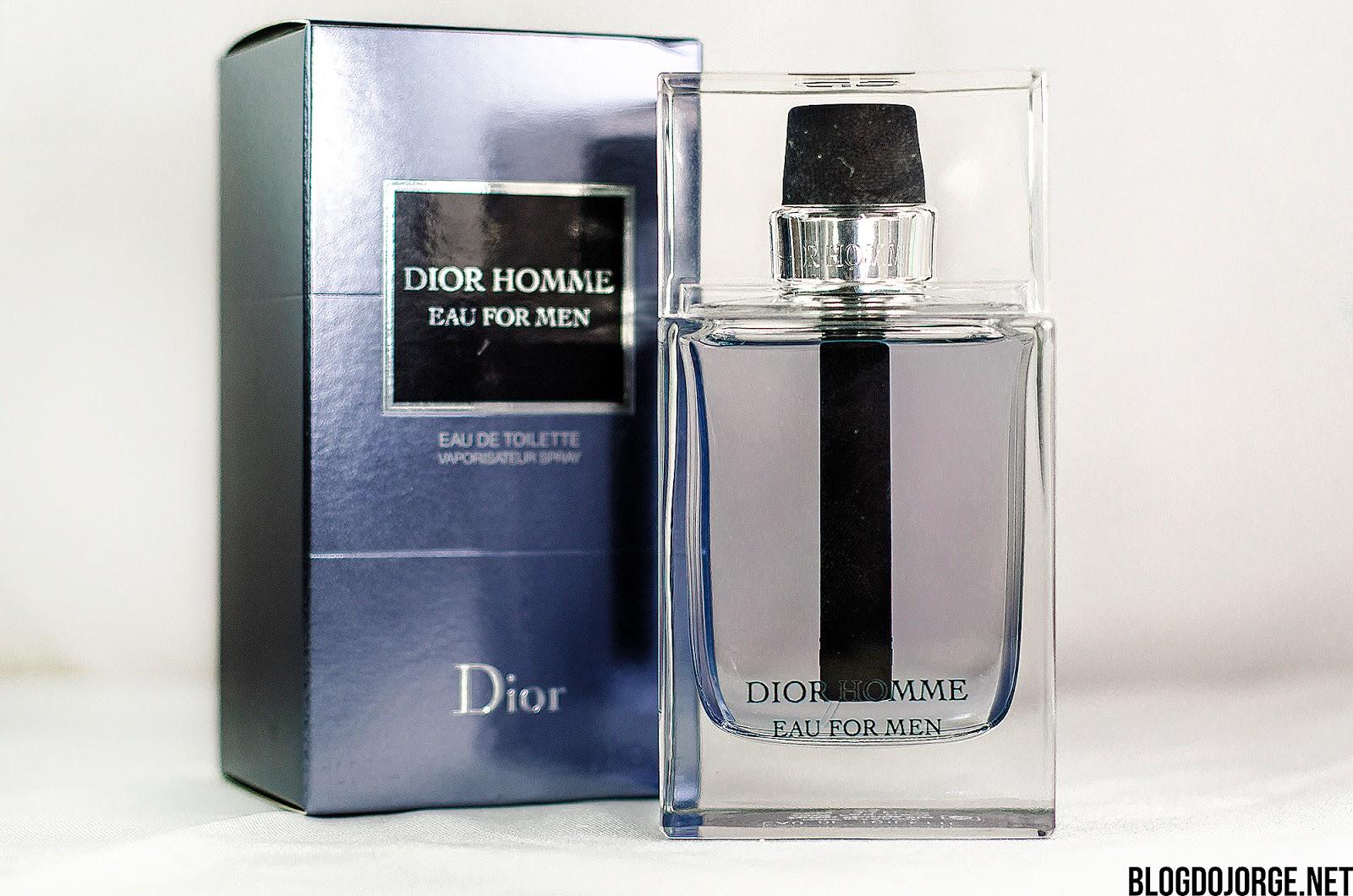 Resenha Dior Homme Eau for Men