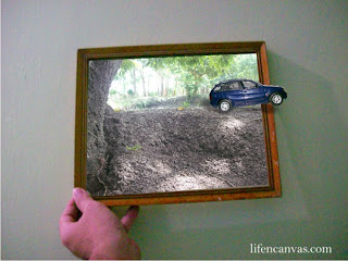 toy car framed