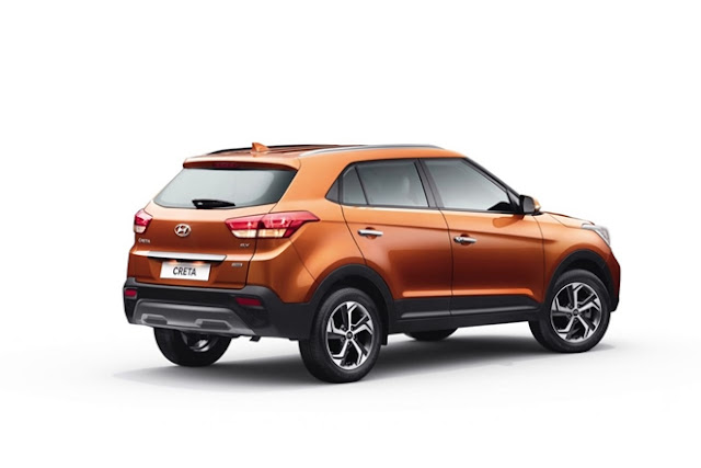 New 2018 Hyundai Creta Facelift three qauter image