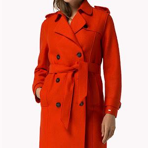 Manteau bleu marine femme mango