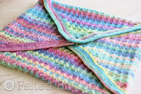 Felted Button Colorful Crochet Patterns Spring Into Summer With A