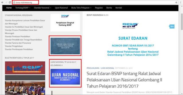BNSP UN 2018