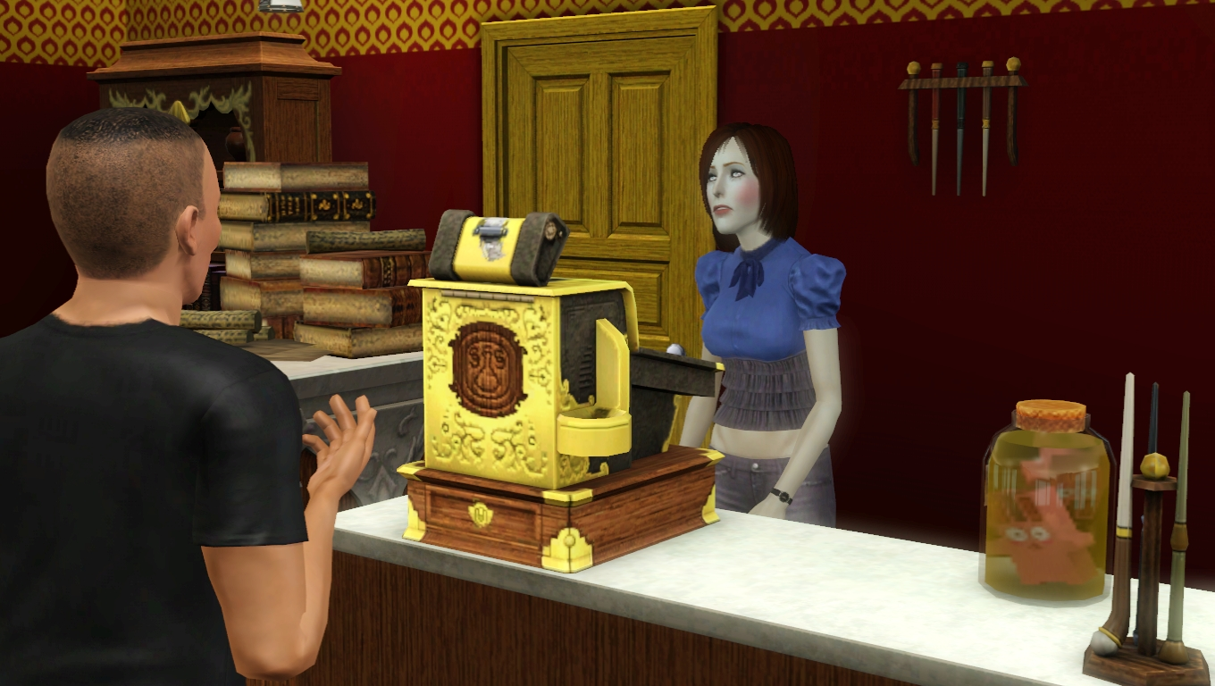 sims 3 how to get elixirs store