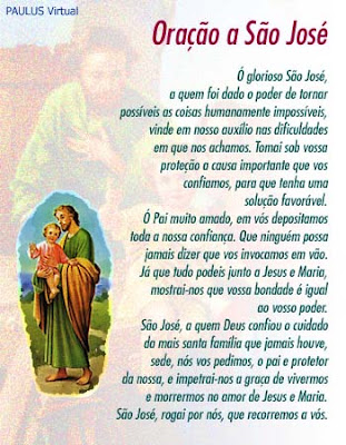 Oração a Sao José