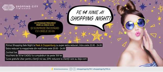 Shopping Night Shopping City Timisoara