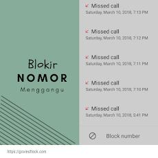 Cara blokir nomor di android