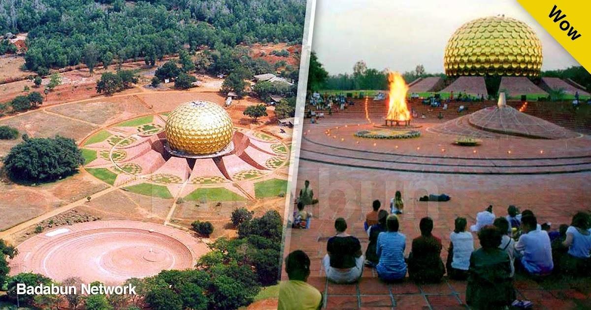 Auroville ciudad utopía libertad Mirra