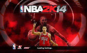 NBA 2k14 Title Screen Patch - Derrick Rose