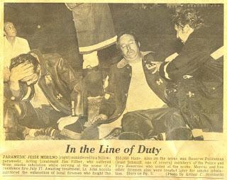 Wauwatosa News-Times firefighter 1975