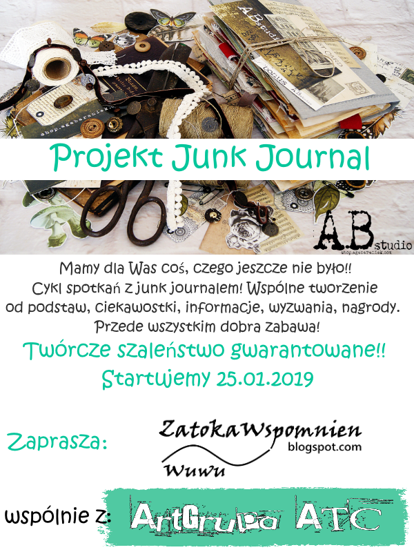 JUNK JOURNAL PROJECT 2019.