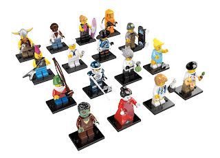 LEGO 8804 Collectable Minifigures Series 4