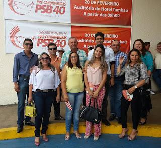 Vice-prefeito e Pré-candidato à prefeitura de Baraúna participa de encontro com grupo político em JP